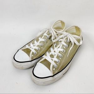 Converse All Star Clear Vinyl Sneaker Size 7
